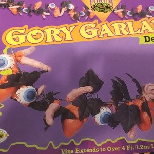 Gory Garland Halloween Decoration - 4 Boxes